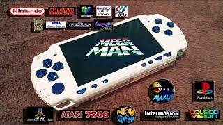 Sony PSP 2000 32gb Mega Man mod. TimothyTimPC@yahoo.com
