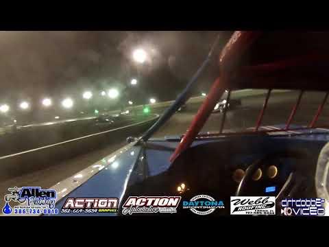 Michael Whipple Pro Late Model Go Pro Camera, Volusia Speedway Park, 4/27/19