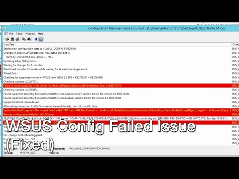 Let's Fix It - Sync Failed WSUS Update Source Not Found On Site SCCM 2012 R2