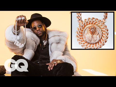2 Chainz Gives Us a Taste of His Insane Jewelry Collection