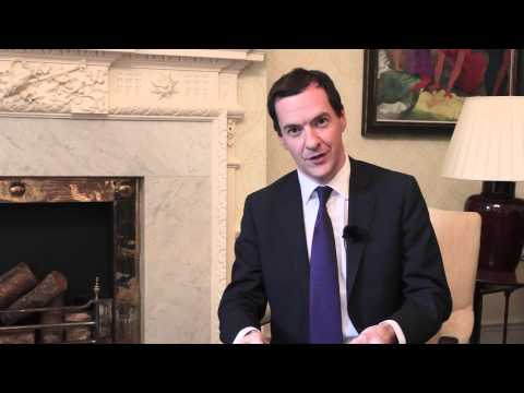 Message by  Chancellor of the Exchequer  George Osborne MP