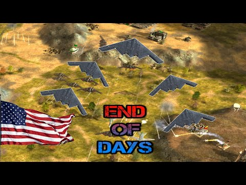 The End Of Days 95 Mod For C&C: Generals Zero Hour | New Version