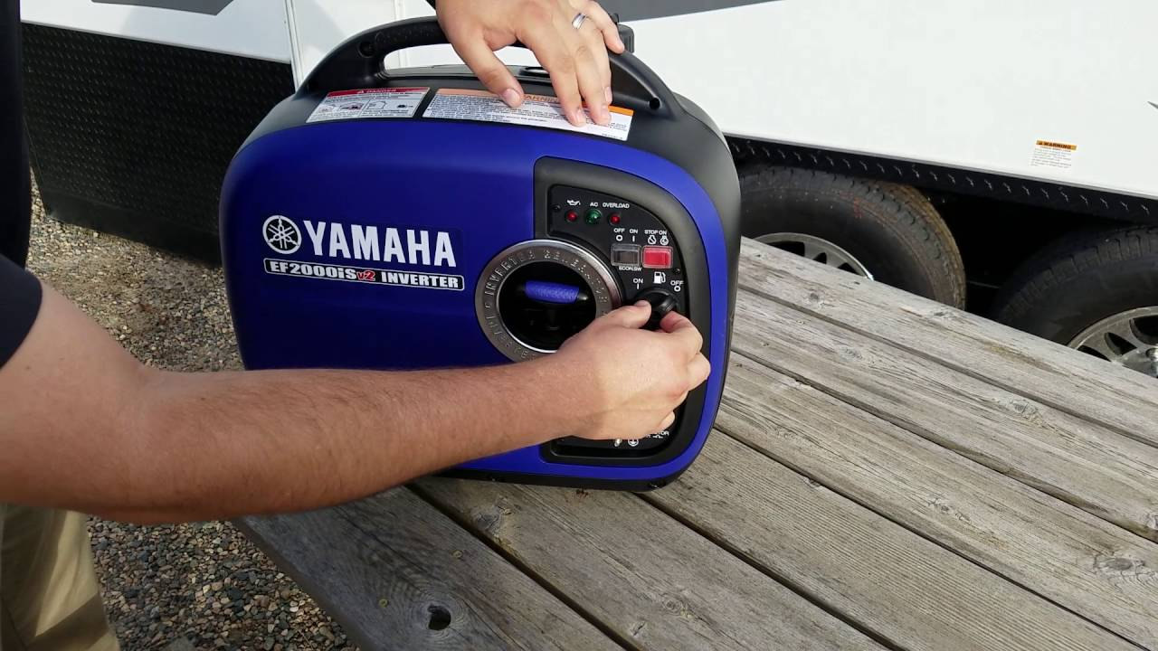 Best Portable Generator for RV Camping (30 AMP & 50 AMP)