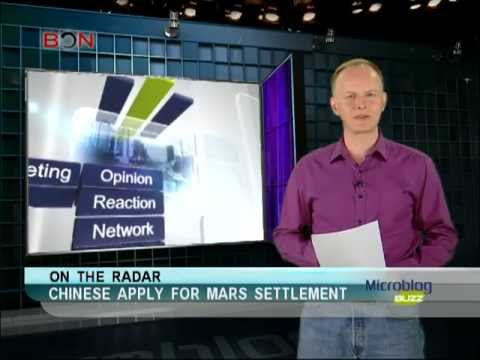 Chinese apply for mars settlement-Microblog buzz-May 2, 2013-BON TV China
