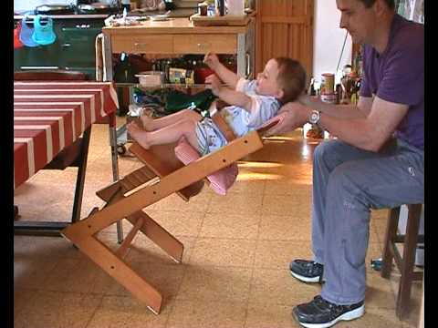 stokke tripp trapp 2 dangerous beware youtube. Black Bedroom Furniture Sets. Home Design Ideas