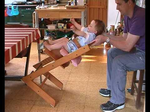Tripp Trapp High Chair Ektorp Covers Ikea Stokke 2 - Dangerous Beware Youtube