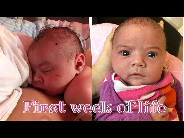IZABELLA'S FIRST WEEK OF LIFE!🌸