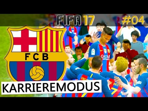 FIFA 17 - FC Barcelona vs Sevilla  (Fifa 17 Karrieremodus #04) Deutsch