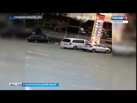 В Невинномысске в аварии погиб водитель