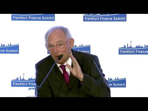 Frankfurt Finance Summit 2016 - Q&A Session with Dr. Wolfgang Schäuble