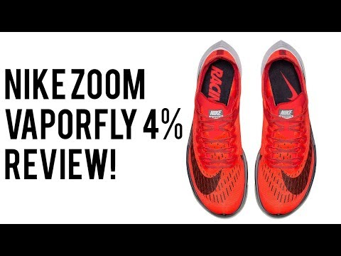 NIKE  Zoom VAPORFLY 4% REVIEW | The BEST Running Shoe EVER Made?!