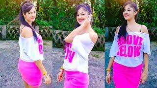 Tiktok hot girls funny videos | Bindass kavya, Jannat jubair, Riyaz, Manjul videos
