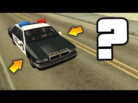 Куда уезжает ПОЛИЦЕЙСКАЯ МАШИНА 🚓 в разных играх GTA ?!