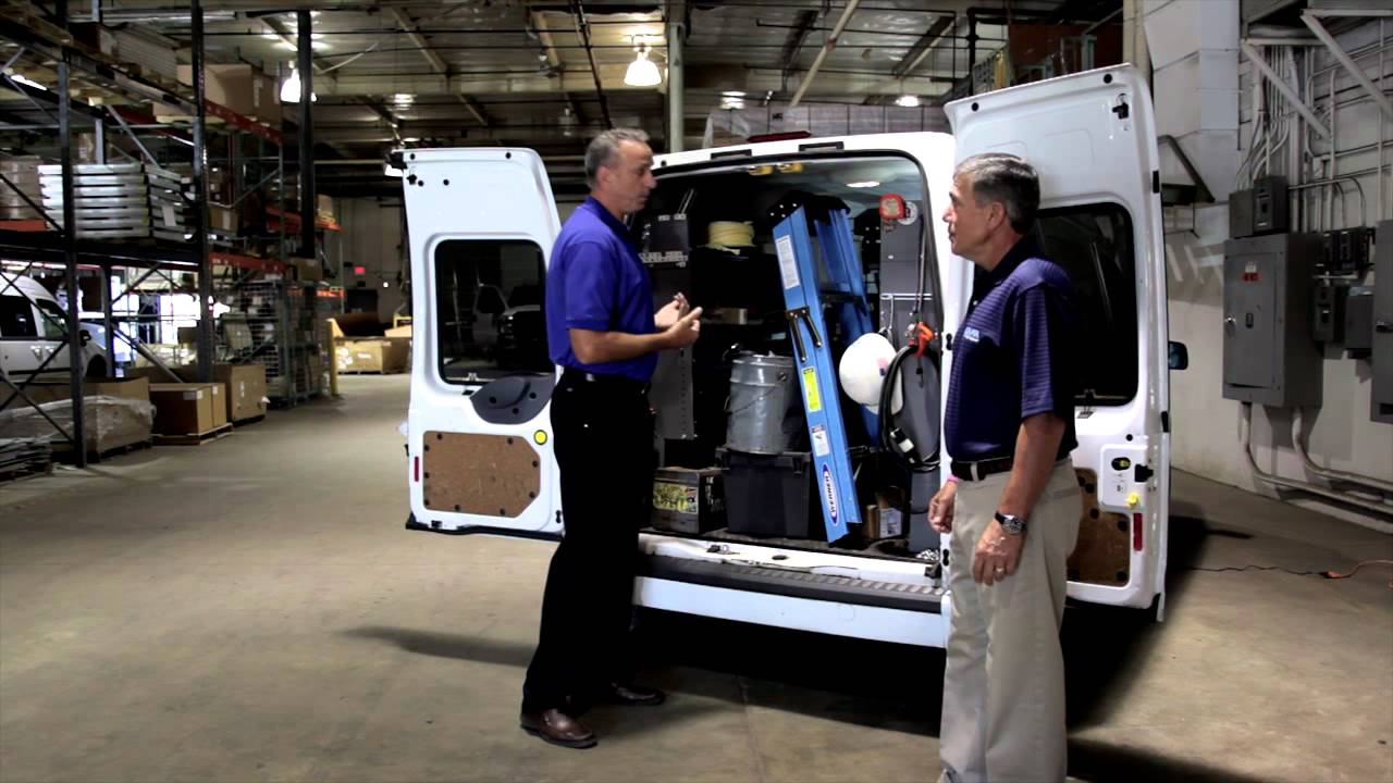 Ford Transit Van >> Turn Your Van Inside Out with the Katerack Shelving System! - YouTube