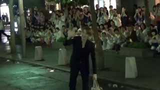朝夏まなと!千秋楽!東京宝塚宙組 王家に捧ぐ歌 出待ち2015/8/30