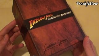 Indiana Jones The Complete Adventures | Blu-Ray Limited Edition Collector's Set [UK]