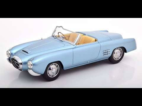 1:18 CMF Cunningham C-3 Continental Sports Coupe 1952 white//darkblue