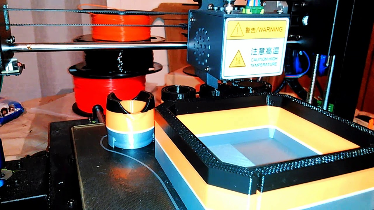 Changing Filament While 3D Printer Is Running, Anycubic I3 Mega