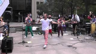 """Happy"" Performed by the Lagond All-Stars at 345 Park Avenue on 7/1/14"