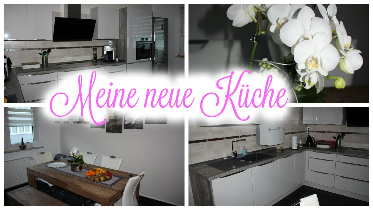 meine neue k che traumk che kitchen room tour lilibeth youtube. Black Bedroom Furniture Sets. Home Design Ideas