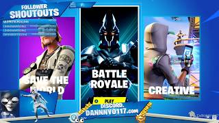 #Fortnite OpenLobby EpicID/Creator Code Danny0117 #XboxOneX Streamed Sep 3, 2019