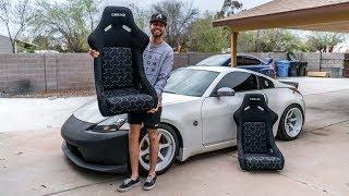 350z Racing Seats Install!