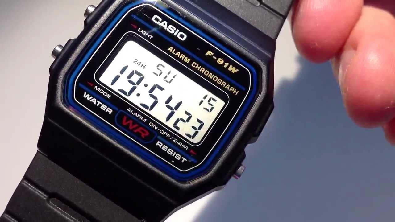 Setting G-Shock GA-500 manual 5478 - YouTube
