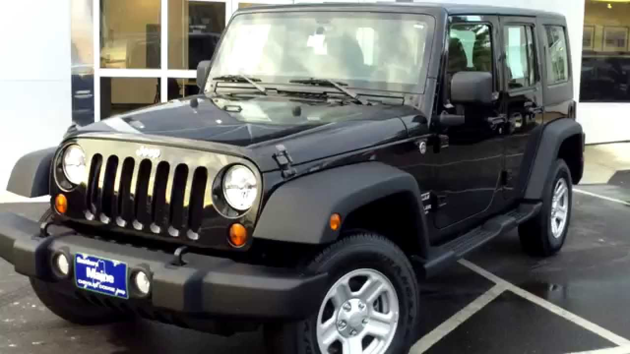 used 2013 jeep wrangler unlimited sport 6 speed manual 4x4. Black Bedroom Furniture Sets. Home Design Ideas
