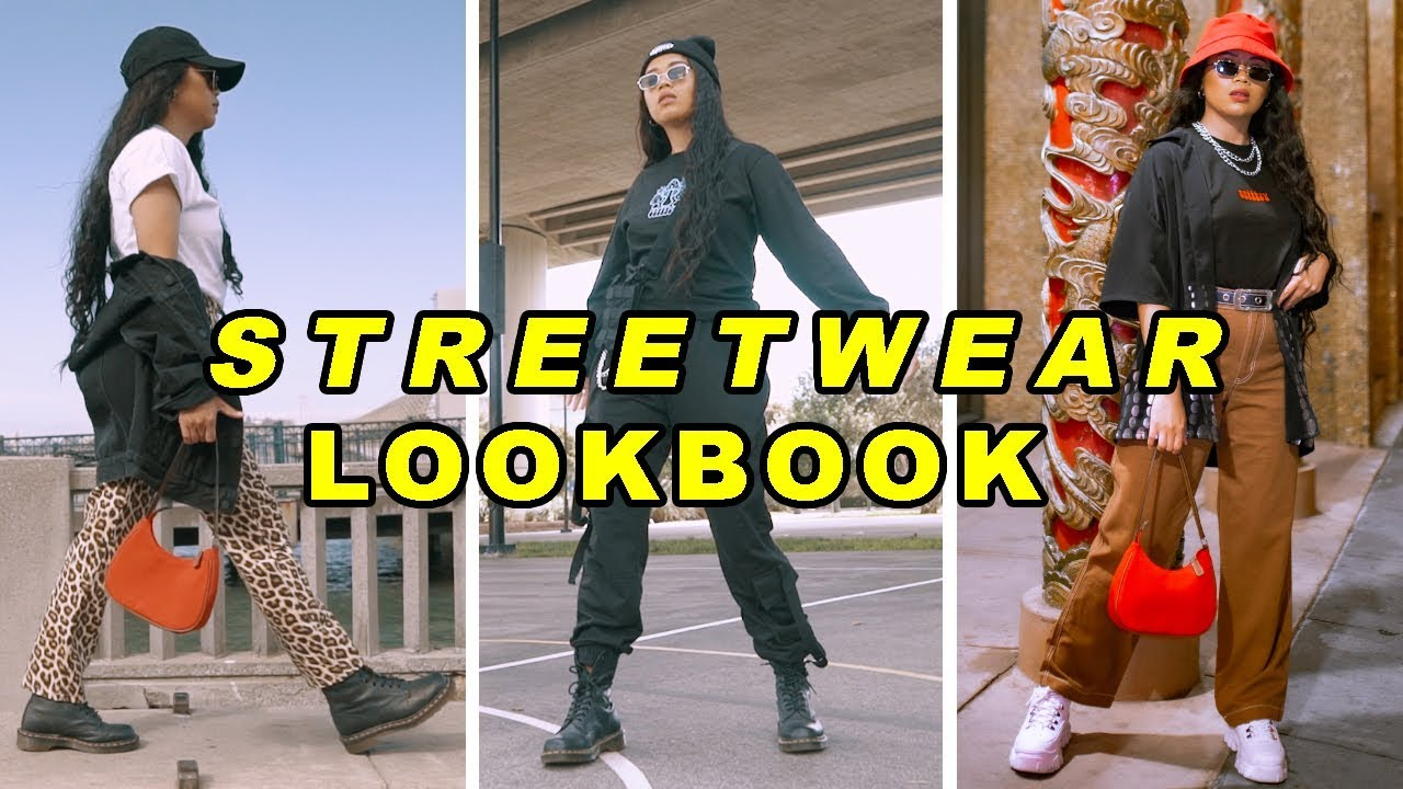 [VIDEO] - Streetwear Lookbook | Mscrisssy 1