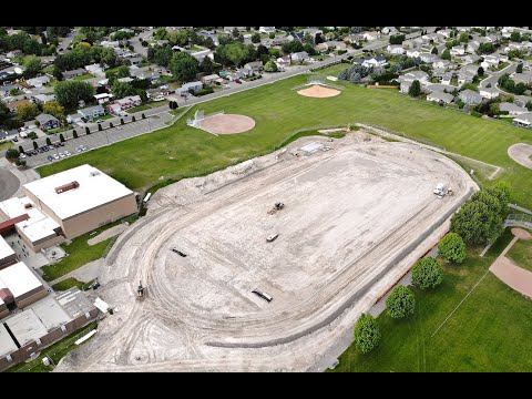 New track at Horse Heaven Hills Middle School