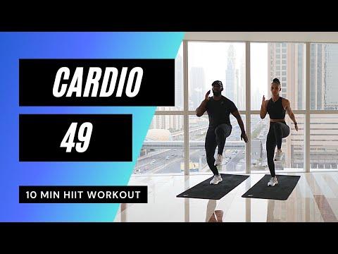Very Sweaty Cardio HIIT Workout! No.72