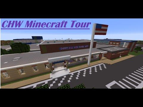 Cherry Hill High School West (Minecraft Tour)