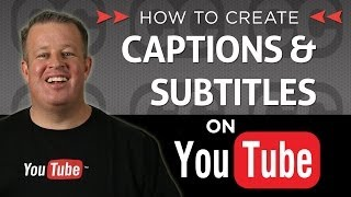 Creating Subtitles and Closed Captions on Your Youtube Videos(How to Create Captions / Subtitles for YouTube Videos - Transcriptions: In his fun and entertaining way Derral Eves explains that captions have been around for ..., 2013-12-02T20:54:32.000Z)