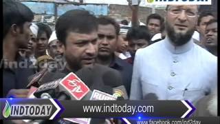 Akbaruddin Owaisi: I will bear the education of Shaheed Feroz Khan children