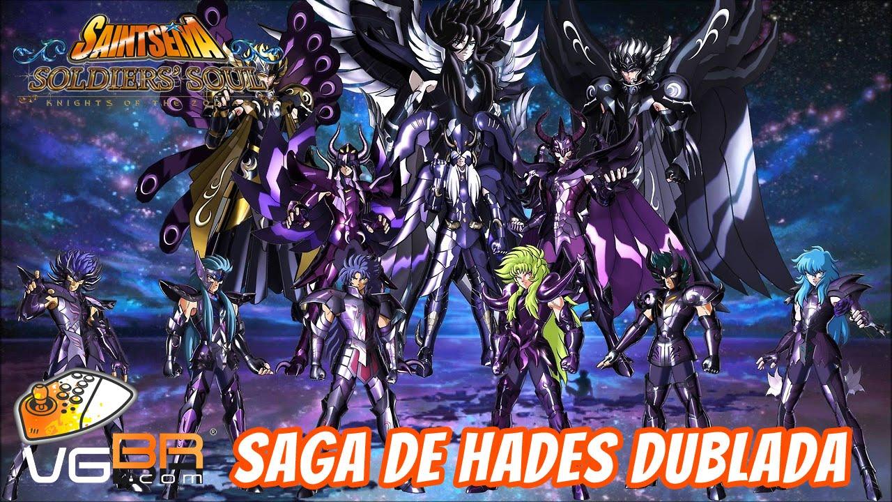 Os Cavaleiros do Zodíaco: Alma dos Soldados Saga De Hades (Saint Seiya Soldiers Soul) DUBLADO