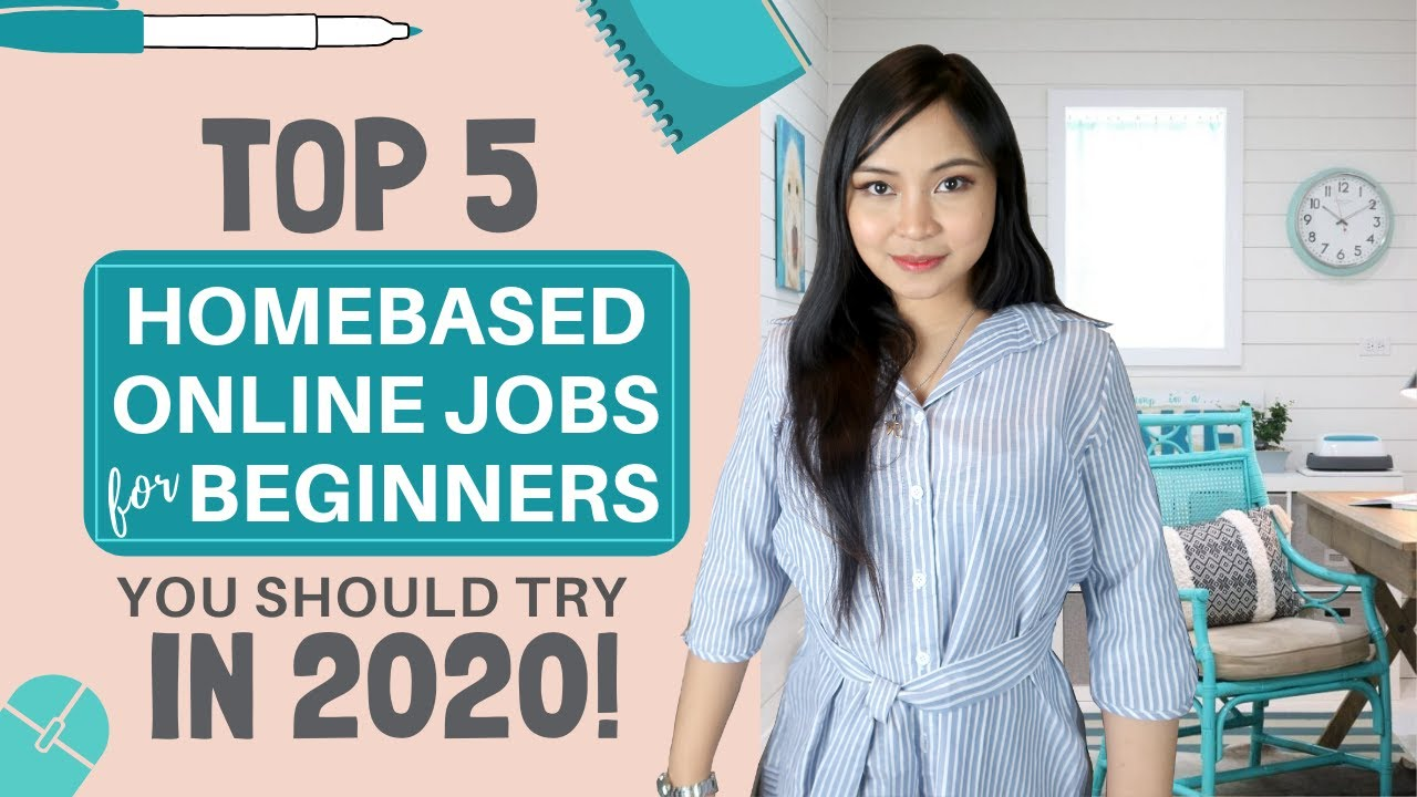 Top 5 Homebased Jobs For Beginners You Should Try In 2020 Work From Home English Subtitles Youtube