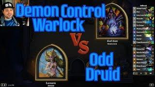 Odd Druid vs Demon Control Warlock - Hearthstone