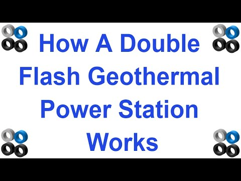 How Double Flash Geothermal Power Station Works