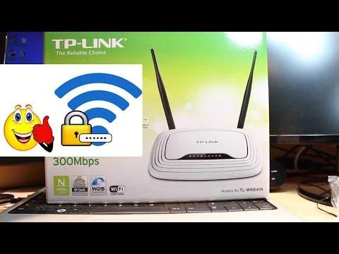 شرح طريقة ضبط وتغير كلمة سر Tp Link الراوتر Youtube