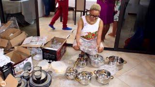 NANDY apewa zawadi ya vyombo baada ya kupokea Vichambo kutoka Instagram, afundishwa kupanga Meza