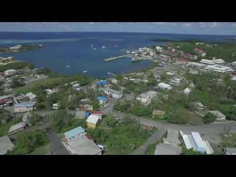 St. Croix, USVI,  post Hurricane Maria Christiansted week 6