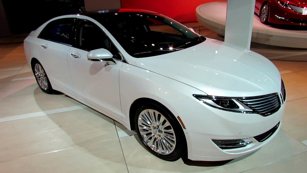 2013 Lincoln Mkz 2 0 Ecoboost Awd Exterior And Interior Walkaround