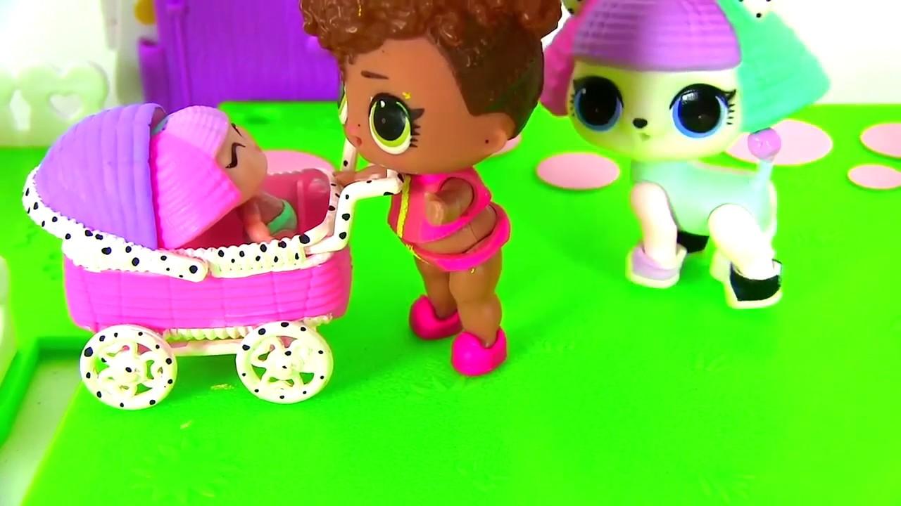 Куклы Лол Мультик! Вечеринка Лол и Барби на 8 Марта ...