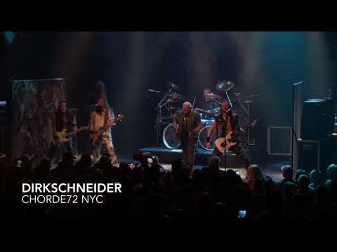 DIRKSCHNEIDER Gramercy Theatre NEW YORK ( full show)