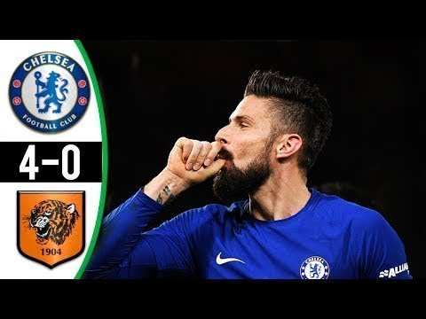 Download Chelsea vs Hull City 4-0 All Goals & Highlights 16/02/2018 HD