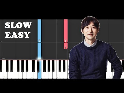 Yiruma - River flows in you (SLOW EASY PIANO TUTORIAL)