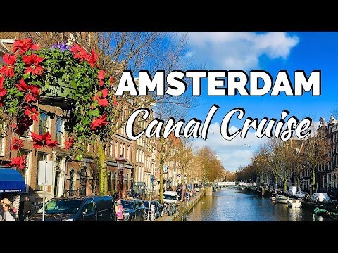 AMSTERDAM CANAL CRUISE 2019
