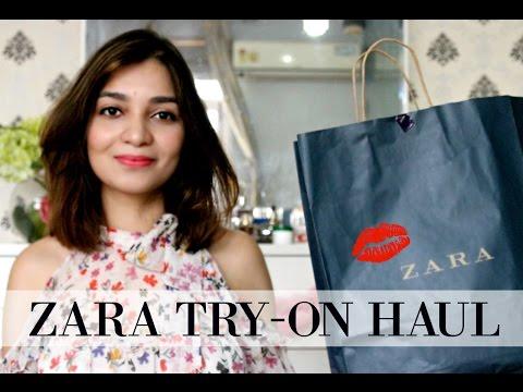 ZARA HAUL 2017| Spring Look Book|??New Giveaway ??| Indian Youtuber |TanzWorldd