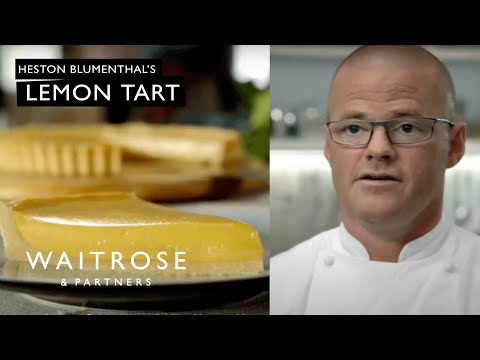 Lemon Tart recipe from Heston and Waitrose
