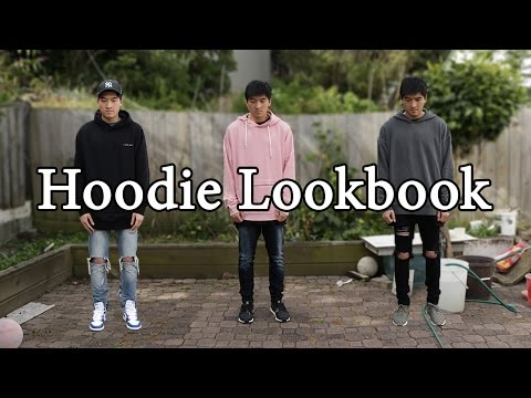 Men's Fashion Hoodie Lookbook | How to style different hoodies